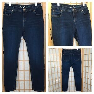 INC Skinny Leg Curvy Fit Denim Jeans SZ 8P